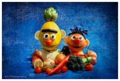 Healthy food from Sesame Street