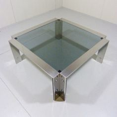 Located using retrostart.com > Coffee Table by Ed Cyruss for Unknown Manufacturer