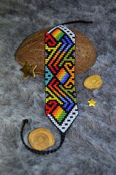 Seed Bead Patterns, Peyote Patterns, Beading Patterns, Bead Loom Designs, Beadwork Designs, Native Beadwork, Native American Beadwork, Beaded Boxes, Seed Bead Bracelets
