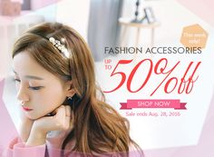 Fashion Accessories Up to 50% OFF! Get US$10 OFF with code 2016BTS