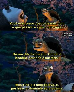 Image about rua in legendas by B. Series Movies, Movies And Tv Shows, Motivational Phrases, Inspirational Quotes, Kung Fu Panda, Disney Dream, Movie Quotes, Sentences, Thoughts