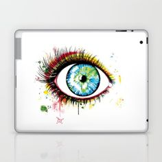 Painted By Buttafly ( Vanessa Brünsing ) Skins exclusively at Society6 >>  DESCRIPTION Skins are thin, easy-to-remove, vinyl decals for customizing your iPad. Skins are made from a patented material that eliminates air bubbles and wrinkles for easy application.