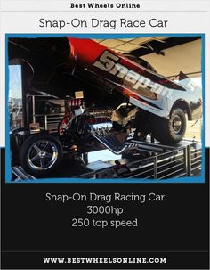 Snap-On Drag Race Car