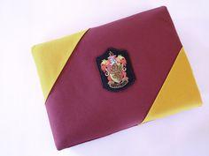 NEED! Harry Potter Hogwarts Gryffindor Laptop Case by TheGypsyGeek
