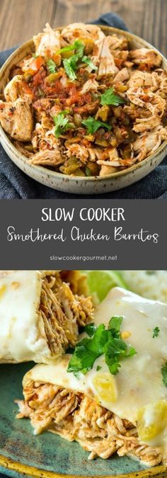 Slow-Cooker-Smothered-Chicken-Burritos