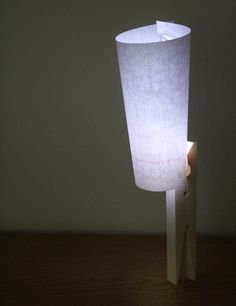 LED pin designed by Sungho Lee. The light has the shape of a clothes pin so it can be easily attached to everything.