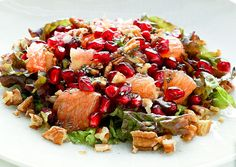 Orange Pomegranate Salad - Pinned by @eatinghealthy. Find more at http://bit.ly/yHPaW240