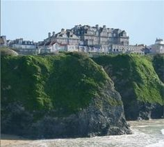 The Hotel Victoria, Newquay, Cornwall, has one of the best locations in Newquay, central but over looking the town's main beaches.