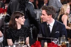 Pin for Later: All the Times Eddie Redmayne and Felicity Jones Made Our Hearts Melt Just chatting, like there's no one else in the room.