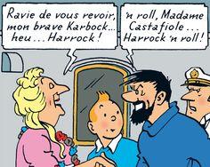 "Captain Haddock & Bianca Castafiore - The Red Sea Sharks // ""Harrock 'n roll!"""