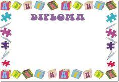 Marcos de diplomas para preescolar - Imagui