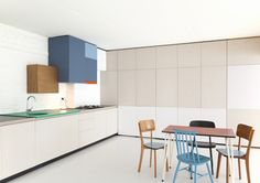 Loft by Dries Otten | #hometour #wood #interior #surfaces