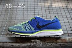 detailed look 50a22 4633f Mens Nike Air Zoom Mariah Flyknit Racer Running Shoes Green Blue White  Black Nike Racer,
