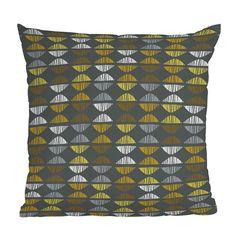 Jane Kathryn Kolles Bongo Throw Pillow