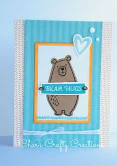CTMH Little Dreamer card by Char's Crafty Creations. I also used the Jack cardmaking stamp set.