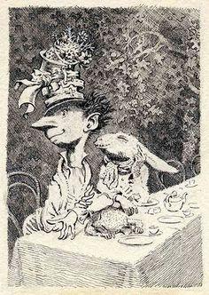 Illustration by Mervyn Peake