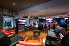 20 Garage Man Caves For Football Season | Home Matters