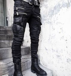 2017 Fashion Brand Zipper Mens Biker Jeans British Style Harajuku Slim fit Jeans Men Pants Black Motorcycle Rock Jeans Men M-3XL