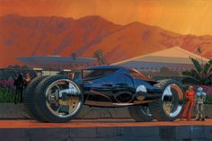 Megacoachby Syd Mead