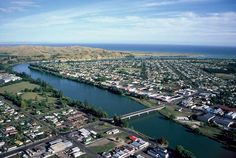 Wairoa town and river, early Down From The Mountain, Shopping Street, Early 2000s, The Beautiful Country, Always And Forever, Mountain Range, Kiwi, Places To Go, Scenery
