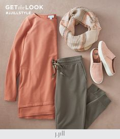 Live in luxuriously soft styles. Live in Pure Jill Harmony. Everyday Casual Outfits, Ankle Length Leggings, Knit Boots, Cable Sweater, Knitted Poncho, Weekend Wear, What I Wore, Hooded Jacket, Pure Products