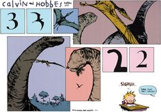 Three plus two... Calvin?  ~  Calvin and Hobbes by Bill Watterson
