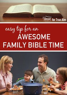How can a busy family like yours plan for regular family Bible time? You'll LOVE this simple and practical tip that makes family Bible time a regular time of deep spiritual connection with your family! Bible Activities For Kids, Bible Lessons For Kids, Bible For Kids, Family Bible Study, Bible Study Plans, Spiritual Connection, Christian Families, Family Values, Children And Family