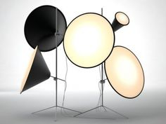 Cone Light Stand 1