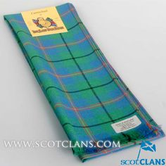 Clan Carmichael Tartan Scarf