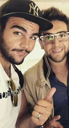 Ignazio and Piero...two extraordinarily handsome gents!