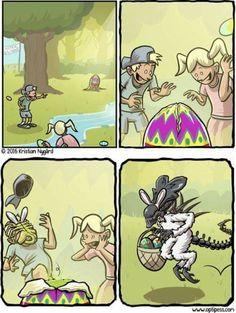 """""""Happy Alien Easter"""" by WallySaves"""
