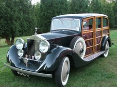 1929 Rolls Royce Woodie...Brought to you by #House of #InsuranceEugeneOregon
