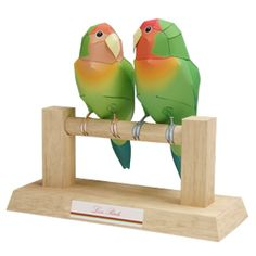 Love Birds - Other Animals - Animals - Paper Craft - Canon CREATIVE PARK