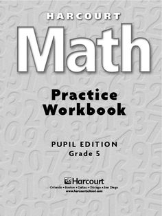 Free downloadable 170 page 5th grade math workbook