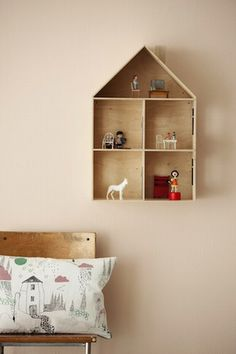 Ferm Living | House Shadow Box for small treasures