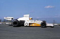 Jody Scheckter Yardley McLaren m-23 Watkins Gen USGP 1973