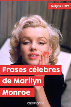 30 famous phrases by Marilyn Monroe - These are some of the most famous phrases of actress Marilyn Monroe - Marilyn Monroe Outfits, Marilyn Monroe Costume, Marilyn Monroe Tattoo, Marilyn Monroe Wallpaper, Famous Phrases, Caption For Yourself, Moda Instagram, Lara Jean, Tumblr Love