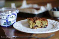 Blueberry Yogurt Coffee Cake #gluten_free