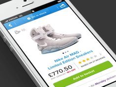 Risultati immagini per ux design reating product page mobile Nike Air Mag, Ui Patterns, Sour Cream And Onion, Mobile App Design, Product Page, User Experience, Ux Design, Healthy Dinner Recipes, Improve Yourself