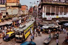 Kolkata tram - Steve McCurry from the book India