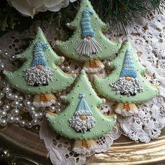 Gnome Christmas cookies