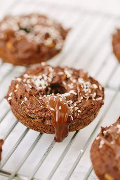 Gluten-Free Chocolate Zucchini Noodle Donuts with  Mein Blog: Alles rund um die Themen Genuss & Geschmack  Kochen Backen Braten Vorspeisen Hauptgerichte und Desserts