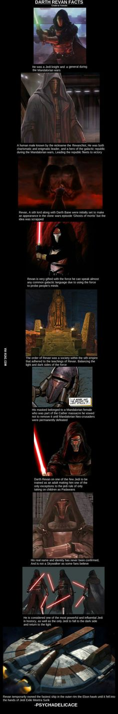 Darth Revan Facts..