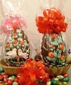 Huevos De Pascua Decorado En Chocolate- Glace 2014