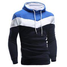 New 2016 Hoodies and Sweatshirts Patchwork Hoodies
