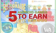 Have a look at a few android games that can help to earn BTC rewards while enjoying the games at the same time.  VISIT:- https://www.digitalcoinsexchange.com/blogs/five-android-games-to-earn-btc-rewards/  #BTCrewards, #bitcoingambling, #freebitcoins