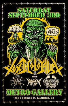 Long Live The Loud 666: SATURDAY SEPTEMBER 3RD : TOXIC HOLOCAUST,BAT,NOISE...