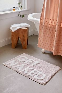 Get Naked Bath Mat – Bathroom Rugs Bath Mats