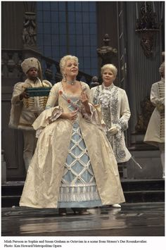 Costumes from Der Rosenkavlier.