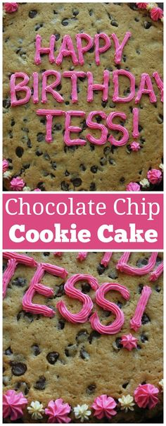 Homemade Chocolate Chip Cookie Cake - just like the ones you get at the mall! Homemade Chocolate Chip Cookie Cake - just like the ones you get at the mall! Chocolate Chip Cookie Cake, Homemade Chocolate Chip Cookies, Chocolate Recipes, Giant Chocolate, Chocolate Muffins, Homemade Snickers, Chocolate Sweets, Chocolate Orange, Cookie Desserts